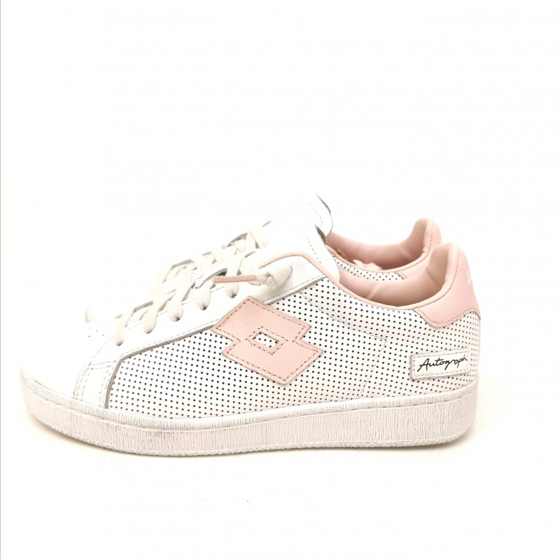 LOTTO LEGGENDA - Sneakers AUTOGRAPH micro- Snow White/Crystal