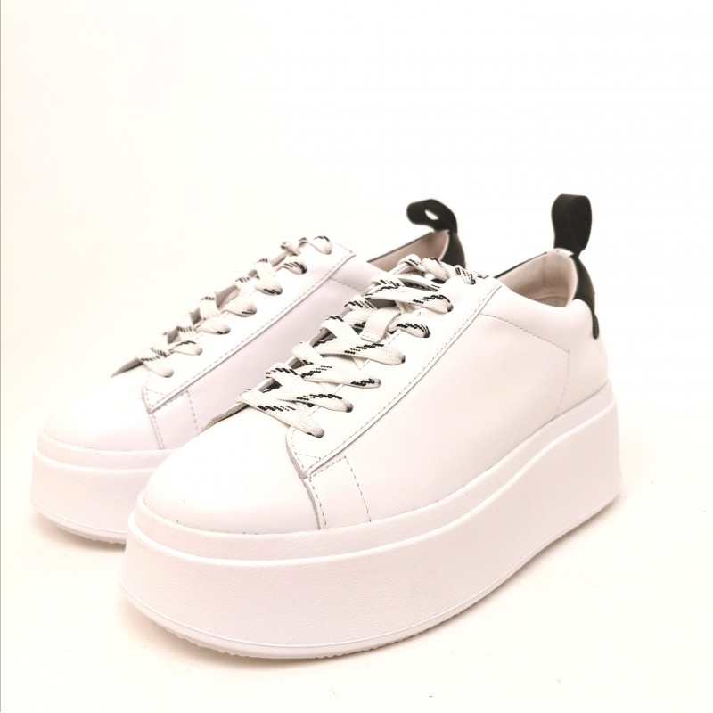 ASH - Platform Sneakers - White/Black