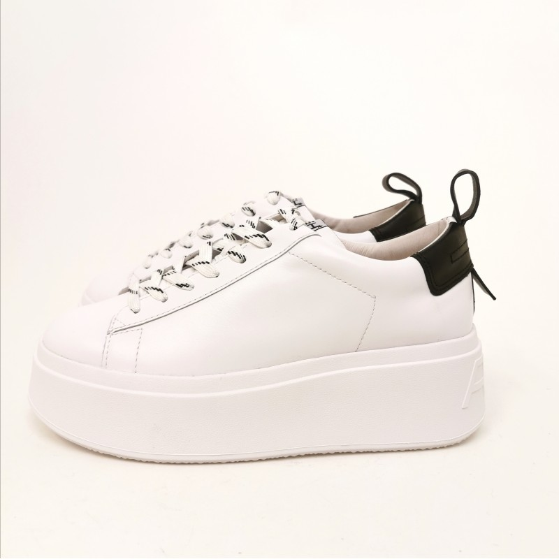 ASH - Sneakers Platform - Bianco/Nero