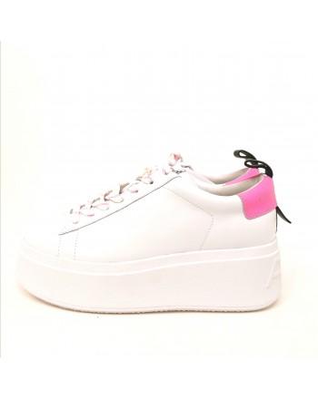 ASH - Sneakers Platform - Bianco/Rosa