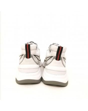 ASH - Leather sneakers - White/Brasil