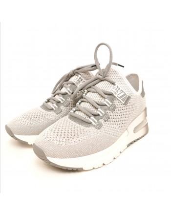 ASH - Sneakers Krush Lurex - Grigio/Lurex/Argento