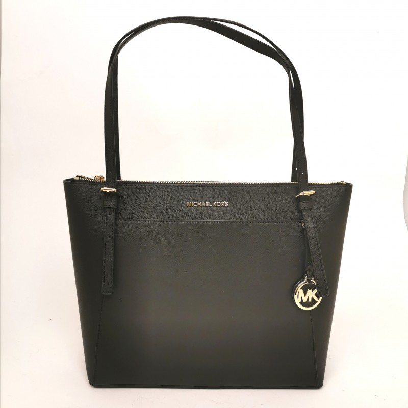 MICHAEL BY MICHAEL KORS - Shopping  Voyager in pelle - Nero
