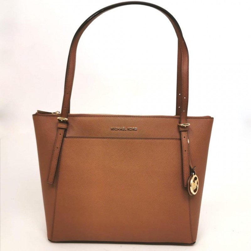 MICHAEL BY MICHAEL KORS - Shopping  Voyager in pelle - Acorn