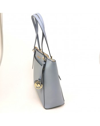 MICHAEL BY MICHAEL KORS - Shopping  Voyager in pelle - Pale Blue