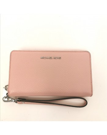MICHAEL BY MICHAEL KORS - Borsa da polso in pelle - Smokey Rose