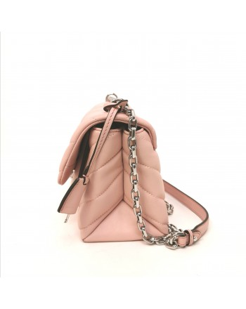 MICHAEL by MICHAEL KORS - Borsa Trapuntata MD CHAIN - Smokey Rose