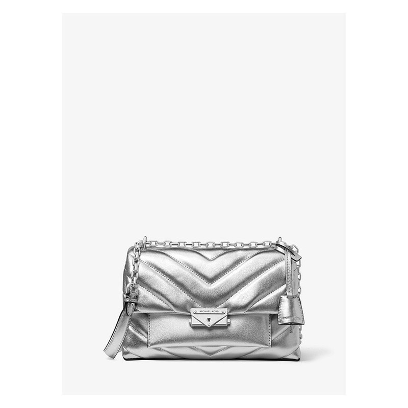 MICHAEL by MICHAEL KORS - Borsa CECE Medium - Argento