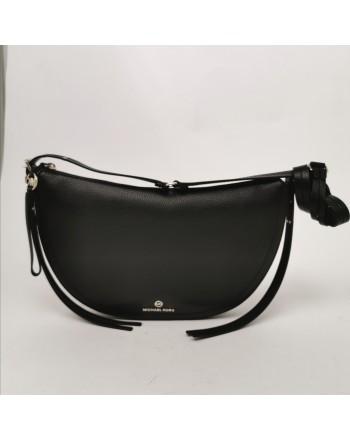 MICHAEL BY MICHAEL KORS - Half Moon Leather bag - Black