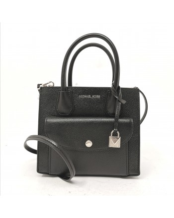 MICHAEL BY MICHAEL KORS - Borsa MD Pocket in pelle martellata - Nero