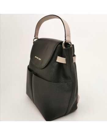 MICHAEL by MICHAEL KORS - Leather backpack - Black