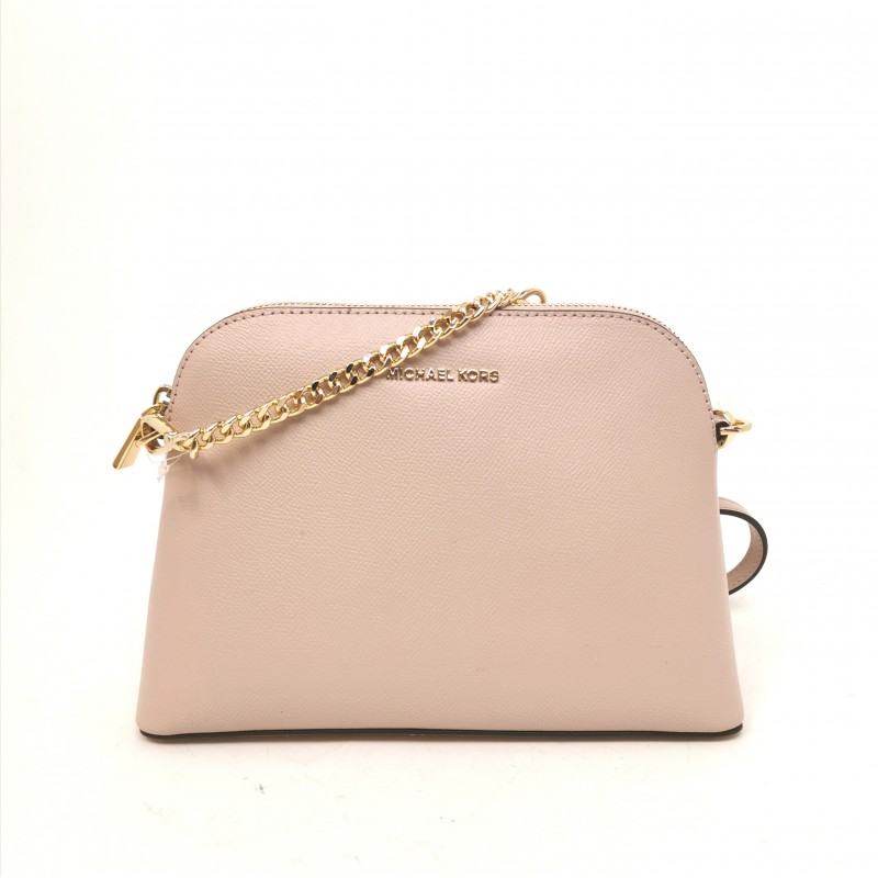 MICHAEL by MICHAEL KORS - Hammered leather shoulder bag - Soft Pink