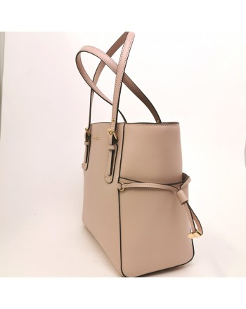 MICHAEL BY MICHAEL KORS - VOYAGER leather tote bag - Soft pink