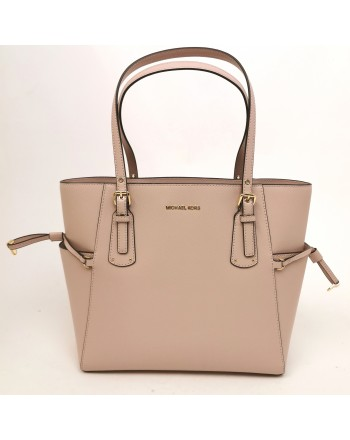 MICHAEL BY MICHAEL KORS - Borsa tote Voyager in pelle - Rosa chiaro