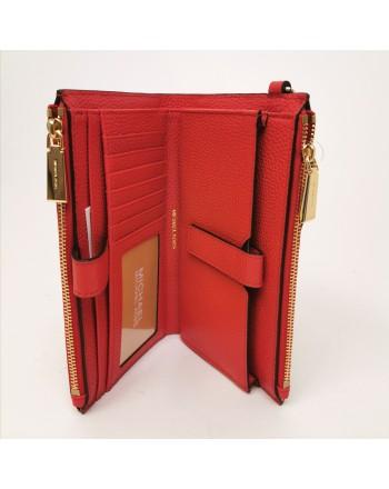 MICHAEL BY MICHAEL KORS - Portafoglio in pelle con laccetto - Bright Red