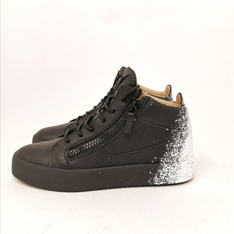 GIUSEPPE ZANOTTI -   BIREL VAGUE Sneakers - Black