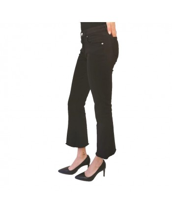 FAY - Cropped Jeans - Black