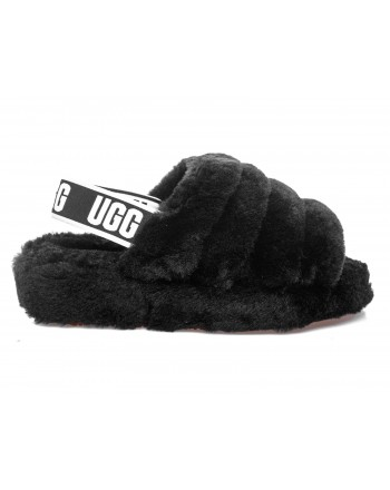 UGG - Open Toe FLUFF YEAH SLIDE sandal - Black