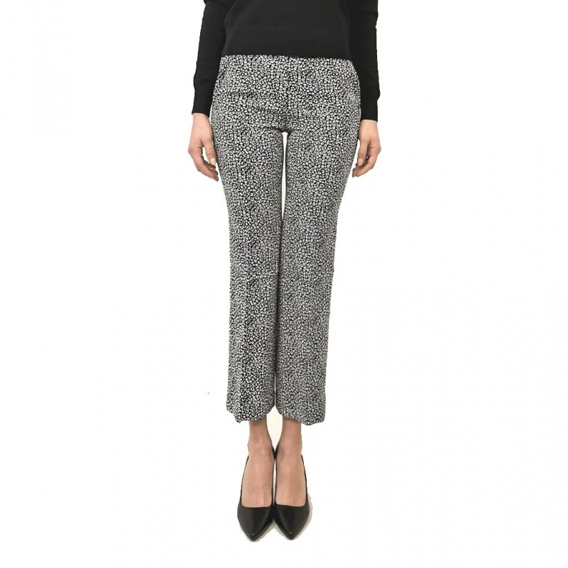 MICHAEL BY MICHAEL KORS - Stretch trousers with animal print