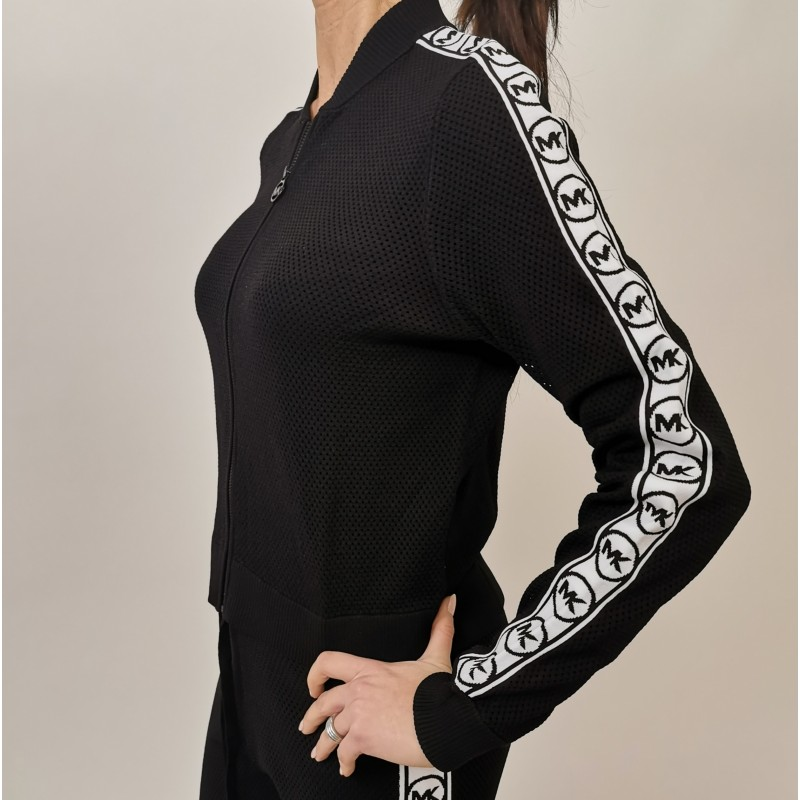 MICHAEL by MICHAEL KORS - CROSSBODIES Bag - Micromesh Side Logo Jacket- Black