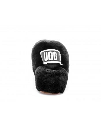 UGG - Sandalo FLUFF YEAH SLIDE punta aperta - Nero