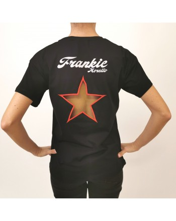 FRANKIE MORELLO - T-Shirt Regular Fit Bowie - Nero