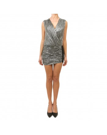 PINKO - Crystals Dress GASTONE - Black/Crystal