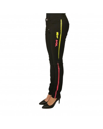 PHILIPP PLEIN - Neon Band Pants - Eclypse