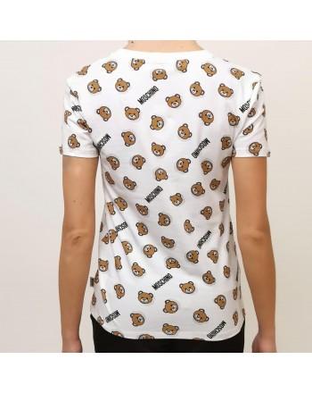 MOSCHINO - Cotton T-Shirt - White
