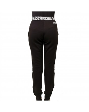 MOSCHINO - Stretch JOGGING trousers - Black
