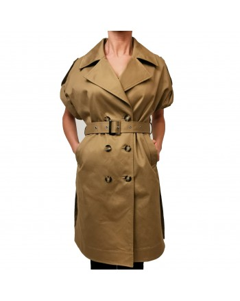 PINKO - Short sleevs TRENCH  - Beige
