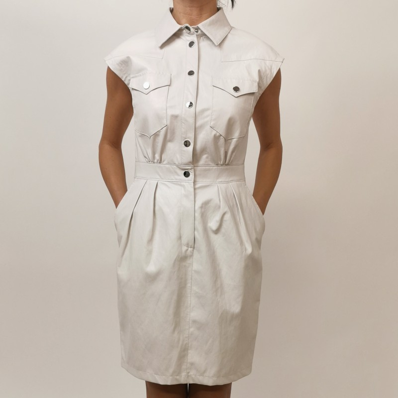 PINKO - SAVARIN dress - White