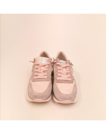 LOTTO LEGGENDA - WEDGE WRINKLES Sneakers - Pink/Silver