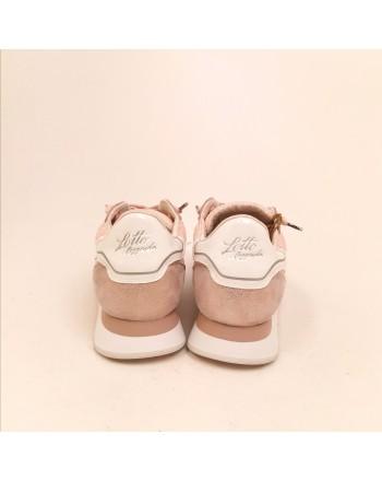 LOTTO LEGGENDA - Sneakers  WEDGE WRINKLES - Rosa/Argento