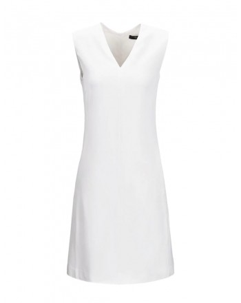 FAY - Sleeveless Dress - White