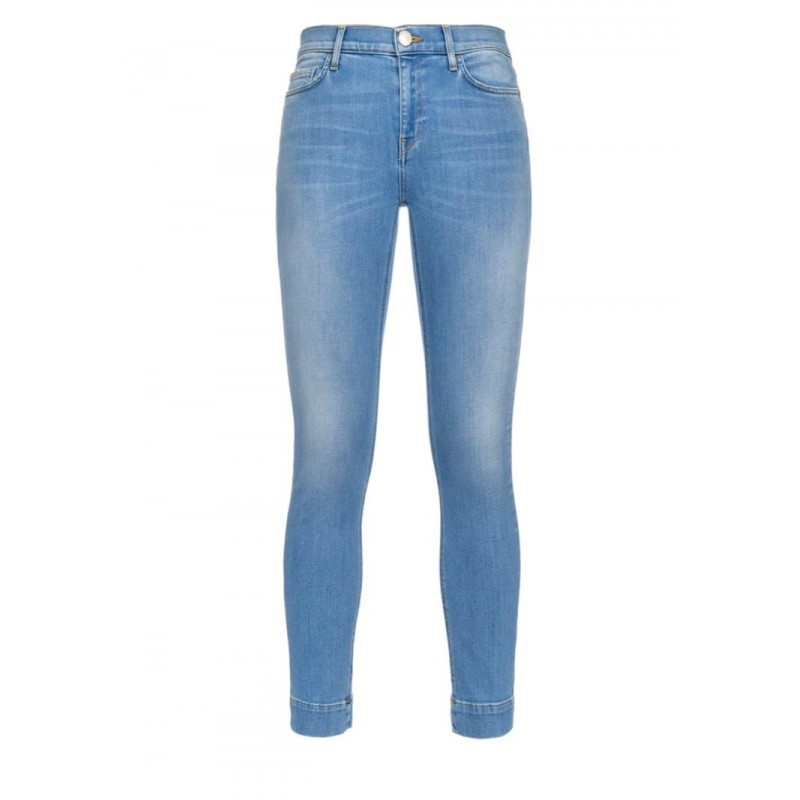 PINKO - SABRINA17 jeans in cotton stretch - Light Blue
