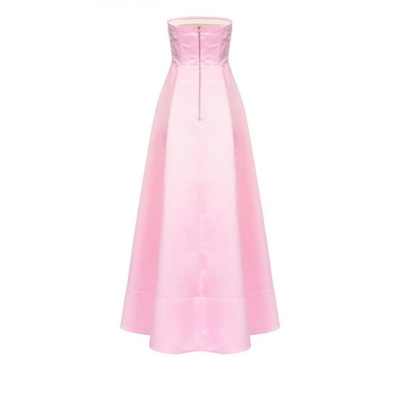 PINKO - DIGIMOND long sleeveless dress - Pink