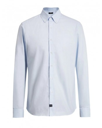 FAY- Regular Fit Button Down Shirt -Mediterraneo