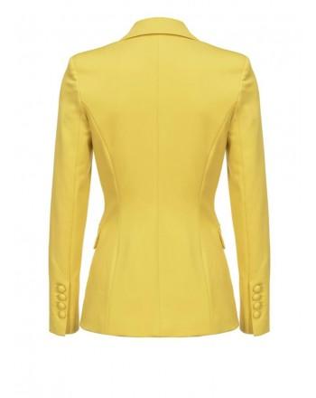 PINKO - Giacca SIGMA Blazer in viscosa - Yellow