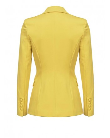 PINKO - SIGMA Blazer in viscosa - Yellow