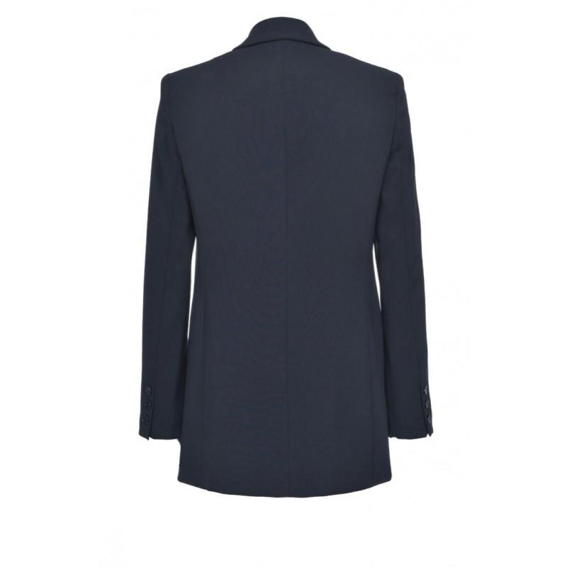PINKO - BAVARESE1 jacket in stretch crepe - Black