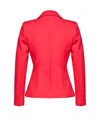 PINKO - CACIOPEPE jacket with bow - Red