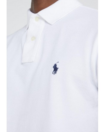 POLO RALPH LAUREN - Polo Piquet Slim Fit  - Bianco