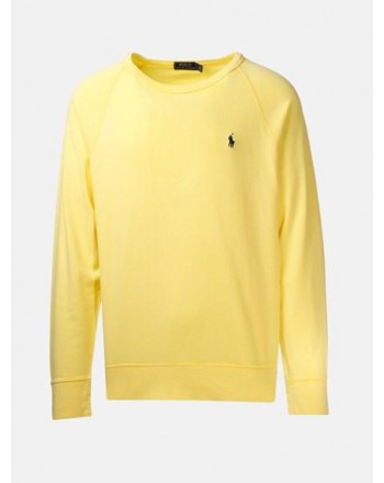 POLO RALPH LAUREN - Felpa leggera in Cotone - Sunfish Yellow