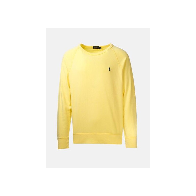 POLO RALPH LAUREN - Light Cotton Sweatshirt  Sunfish Yellow