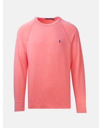 POLO RALPH LAUREN - Light Cotton Sweatshirt  -Thai Orange