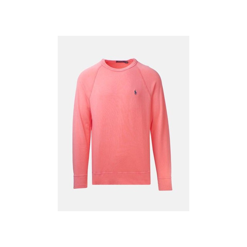 POLO RALPH LAUREN - Felpa leggera in Cotone - Thai Orange