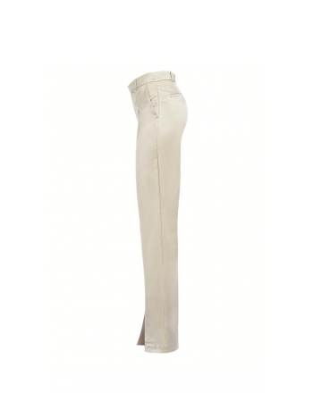 PINKO - SVICOLONE satin trousers - White