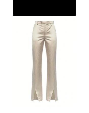 PINKO - Pantalone SVICOLONE in raso - Bianco