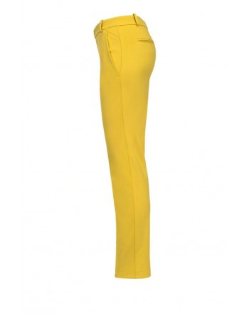PINKO - Pantalone BELLO in viscosa - Yellow